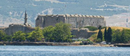 Fortress on one side of the Dardanelles