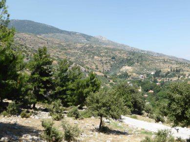 The hills surrounding Priene