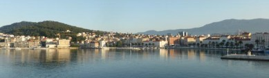 Great view of Split from the boat