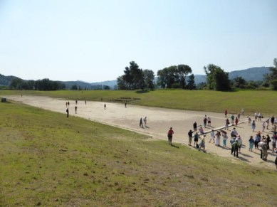 The first olympic running track!