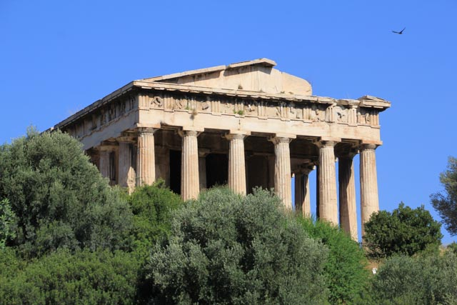 Temple of Hephaestus - remarkably well preserved.