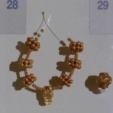 Gold Beads (1400-1300BC)