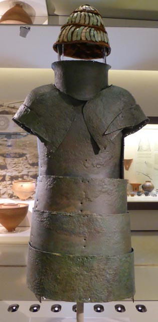 Bronze armour (15th century BC)