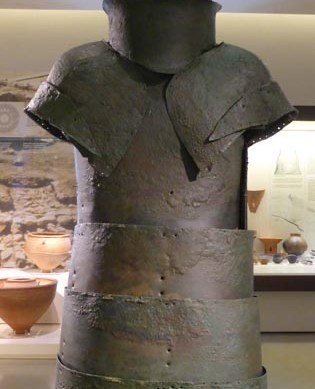 Bronze armour (15th century BC)