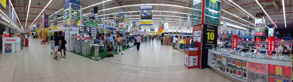 CARREFOURS IN THE MALL