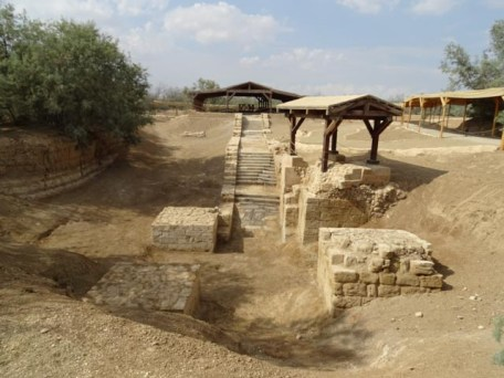 Baptism Site - the river doesn't flow through here any more