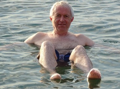 The Dead Sea - you really do float!