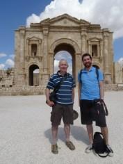 Jerash - Hadrian's Arch