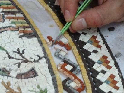 Madaba - mosaic workshop