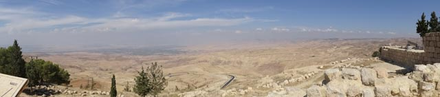 View from Mt Nebo