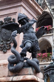The serpent of Protestantism