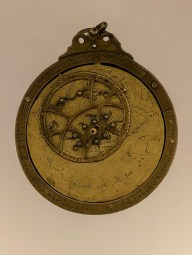 An astrolabe form the 14th century.