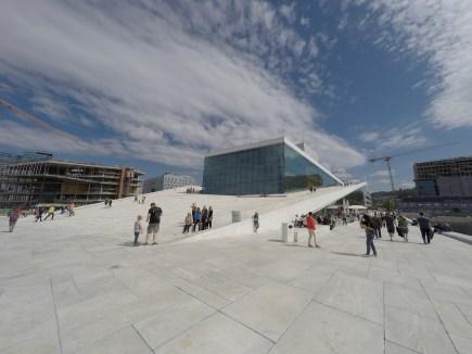The Opera House positively sparkles