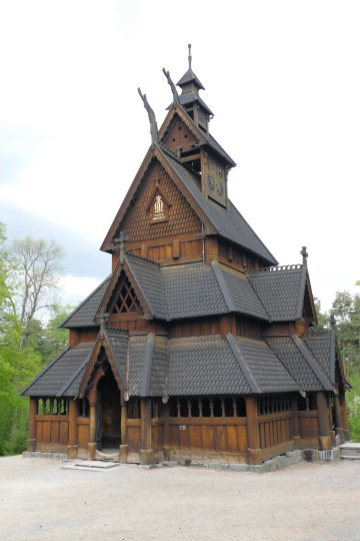 The Stave Church dates from around 1200, and is part of King Oscar II's original collection.