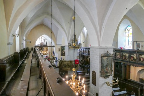 14th century medieval church