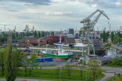 The shipyards