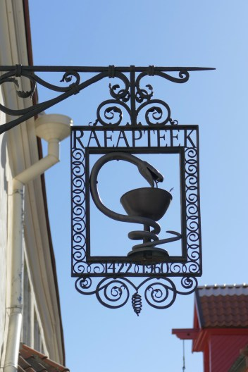 The world's oldest (allegedly) continuously working pharmacy, dating from 1422