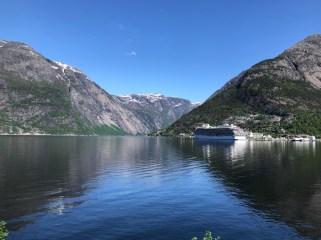The Viking Sea at Eidfjord