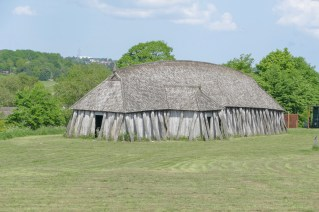 Fyrkat - reconstructed viking longhouse