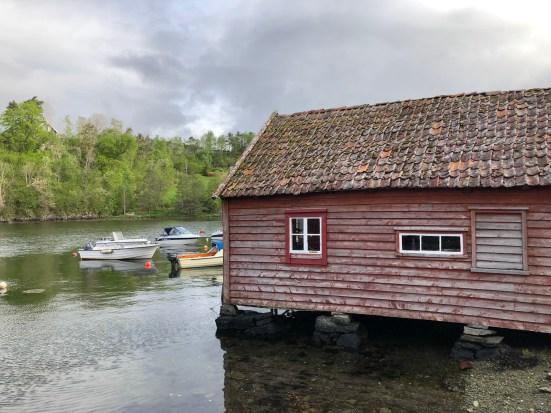 Near Lysøen Island