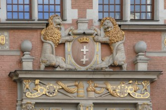Gdansk Coat of Arms on the Armory