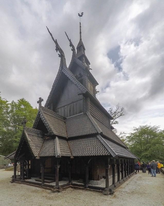 The Fantoft Stave Church