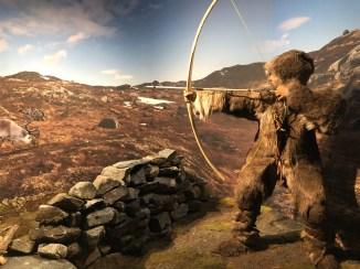 Early reindeer hunter