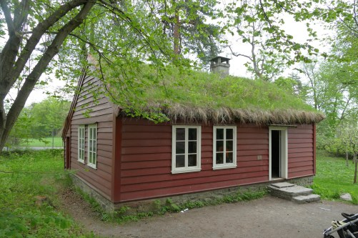 1860s schoolhouse from Western Norway, in use as a school until the 1960s