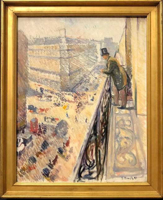 Rue Lafayette, 1891 by Munch