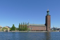 Stockholm City Hall - the ferry pier is just next to City Hall.