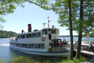 The historic Drottningholm Ferry