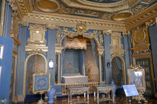 Queen Hedvig Eleanora's State Bedchamber. Not her actual bedroom, but in fact an official audience chamber where notable guests would be received.