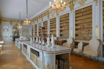 Queen Lovisa Ulrika's Library - she was an avid collector of art, books and natural history specimens.