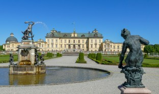View of the palace from the Baroque Garden