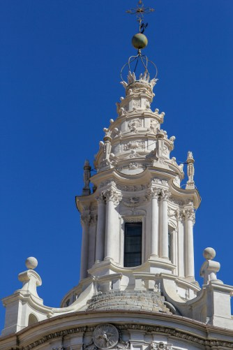 The impressive helical spire.