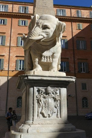 "Bernini's ""Elephant and Obelisk"""