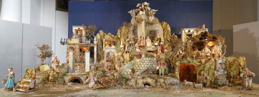 The crib is more than 2 metres across