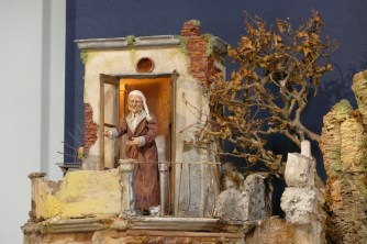 Detail of the crib