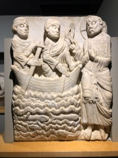 This piece, by an anonymous artist known as the Master of Cabestany, is apparently the most important work in the entire museum. Carved between 1150 & 1175.