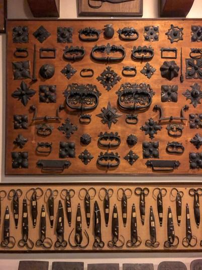 Door hardware & scissors