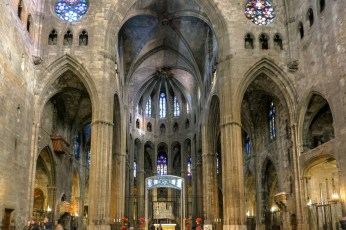 The widest nave in any Gothic church in the world