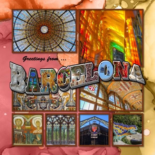 Barcelona Album title page