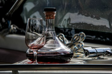 A beautiful carafe & proper glasses. Not what I expected.