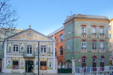 Lovely azulajos in Largo do Intendente