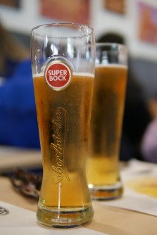 Super Bock is a local Portuguese beer