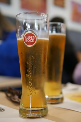 Super Bock is a local Portuguese beer