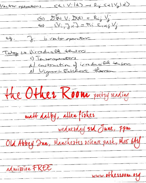 The Other Room June Flyer_smaller