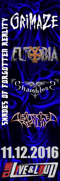 DISTORTED REALITY, EUFOBIA, GRIMAZE и SHAMBLESS в Live & Loud