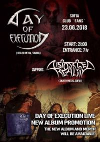 Distorted Reality & Day Of Execution (new album release party)