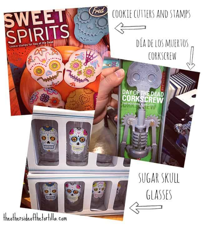 Day of the Dead goodies from PaperSource
